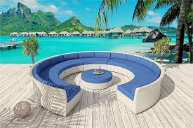 cassandra round white wicker furniture 15