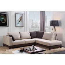 Abbyson Sectional Sofa Abbyson Verona Fabric Sectional Sofa Free Shipping Today