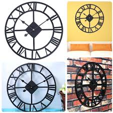 wall clocks canada home decor articles with tesco black face wall clock tag black face wall clock