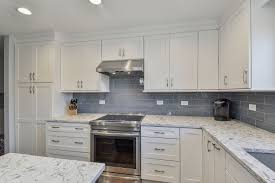 kitchen cabinets with white quartz countertops brian s kitchen remodel pictures home remodeling