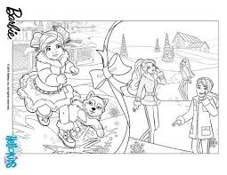 barbie christmas coloring pages print resume collection