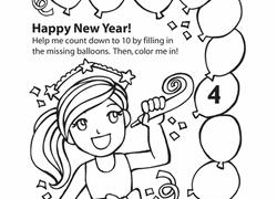 new year worksheets u0026 free printables education com