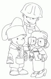 labor coloring pages kids coloring