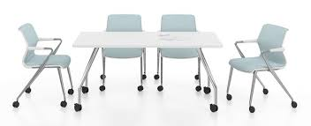 Vitra Conference Table Ad Hoc Solitaires Visitor Rectangular Table By Vitra