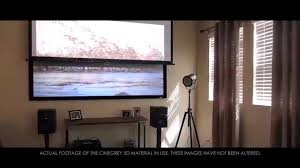 ambient light rejecting screen elite screens cinegrey 5d ambient light rejecting 2d 3d projector