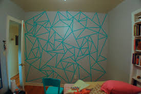 Washi Tape Designs by Paint Designs On Walls With Tape Ideas Wall Paint Tape Designs