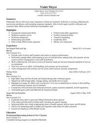 Resume Examples For Bartender by Download Banquet Server Resume Example Haadyaooverbayresort Com