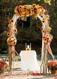 wedding decoration artistic look wedding sunflower decoration ideas weddceremony