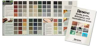 new versions of 2 popular resene colour charts have been relesed