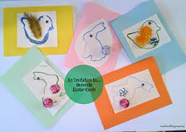 Make A Invitation Card An Invitation To Decorate Easter Cards For Kids