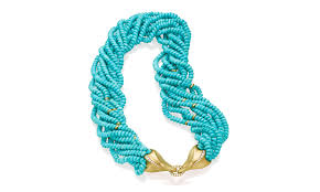 white gold turquoise necklace images Award winning and memorable necklaces and gemstone and pearls jpg