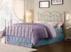 Brushed Nickel Headboard Queen Size Bed Frame And Box Spring Neubertweb Com Home Design
