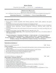 order management resume sample executive resume and examples on