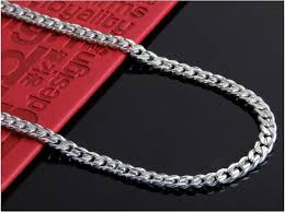 silver necklace chains wholesale images 58 real gold chain necklace men 039 s 18k real gold plated jpg