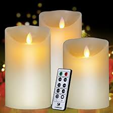 flameless candles battery battery