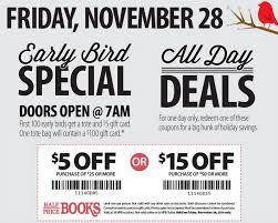 black friday christmas card deals half price books black friday coupon ad and deals 2014