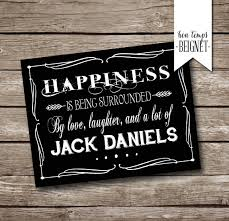 Jack Daniels Curtains Jack Daniels Party Thank You Card Printable Instant Download