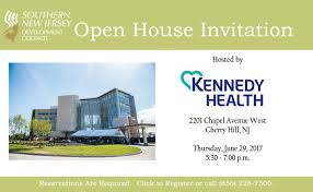 Open House Invitation Open House At Kennedy Health