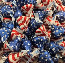 Why Is The American Flag Red White And Blue Amazon Com Usa Tootsie Rolls 1lb Taffy Candy Grocery