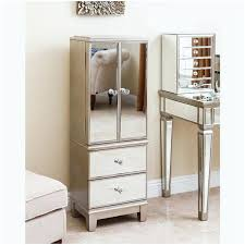 armoire cheval jewelry mirror armoire white cabinet w stand
