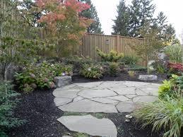 flagstone patio sublime garden design landscape design