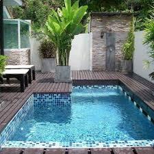 Pool In Backyard by Best 25 Plunge Pool Ideas On Pinterest Small Pools Spool Pool