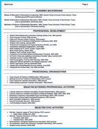 A Resume Example by When You Want To Write An Affiliations Resume You Need To Create