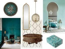 blue city morocco chair mood board moroccan style in interior design modern home decor