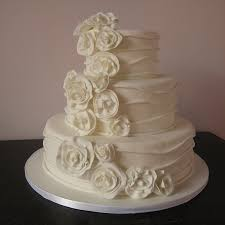 simple elegant wedding cake ideas a simple elegant wedding cake