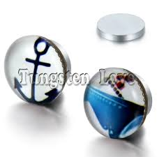 magnetic earrings for men new arrivals anchor sailboat pattern magnetic earrings