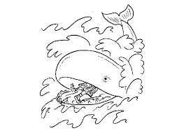 jonah whale coloring pages free coloring beach