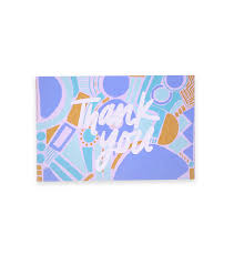 multi pack of thank you postcards thimblepress