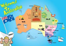Australian Map Elise U0027s Designer Blog Australian Map