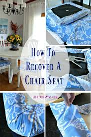 Diy Dining Room Chair Covers by Best 25 Recover Dining Chairs Ideas On Pinterest Upholstered