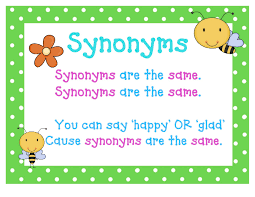 Synonyms And Antonyms And A Little Thesaurus Lessons Tes Teach