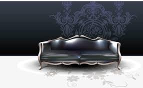 canapé haute qualité de haute qualité de vecteur européen en matière de canapé et de