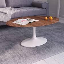 End Table Ls Saarinen Tulip Oval Coffee Table