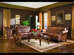 Rustic Leather Sofa by Give Antique Look Of The Living Room By Using Rustic Leather Sofa