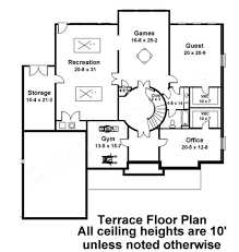 latrobe 4000 sq ft house plan luxury floor plan