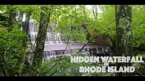 Rhode Island waterfalls images Large hidden waterfall in rhode island jpg