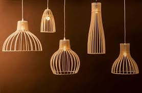 Wooden Pendant Lights Wood Pendant Light Fixtures Phases Africa Decor