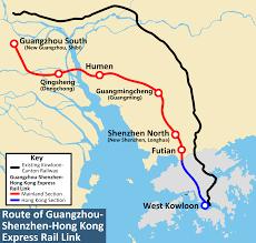Hong Kong Metro Map by File Guangzhou Shenzhen Hongkong Express Rail Link En Svg