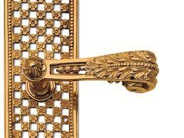 Brass Door Handles C01810 Gabrielle Brass Door Handle By Enrico Cassina