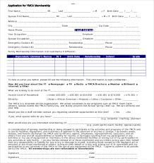 sample form free sample gold club membership application form