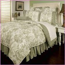 Ideas For Toile Quilt Design Black And White Toile Bedding Sets Quilt Set Foter Design