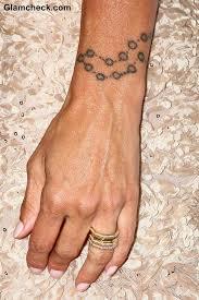 charisma carpenter u0027s rosary wrist tattoo