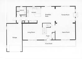 easy floor plan open floor plan allows easy traffic flow housey