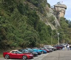 North Carolina Travel Clubs images Car and motorcycle clubs chimney rock at chimney rock state park jpg