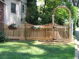 Garden Fence Types Types Of Picket Fence Designs With Stylish Gates For Picket Fence