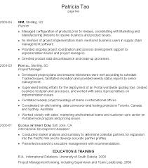 Supply Chain Management Resume Sample by Resume For An It Project Manager Susan Ireland Resumes